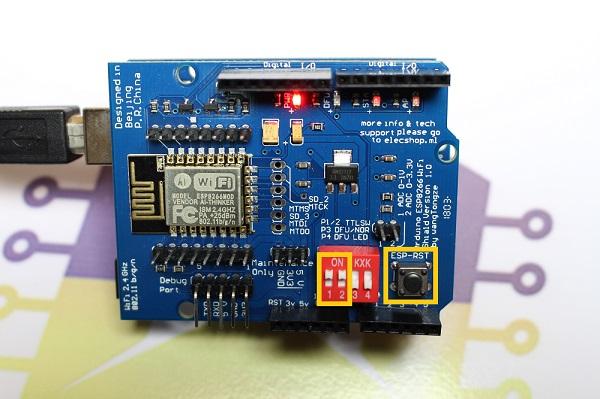 Comunicando o Shield WiFi ESP8266 com o Arduino através da Serial