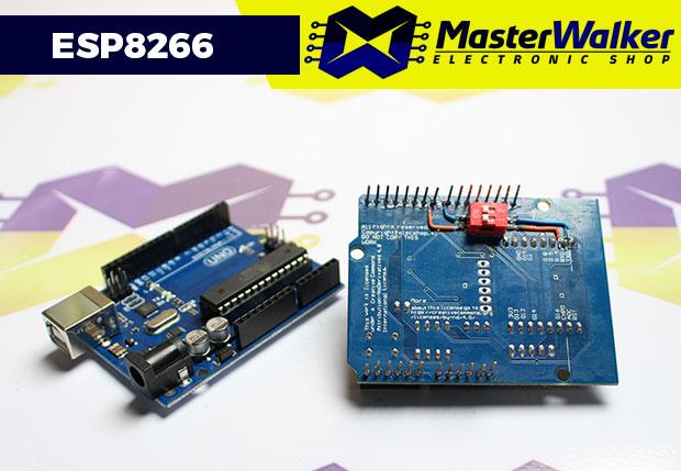 Alternativas de conexão Serial para o Shield WiFi ESP8266 com o Arduino