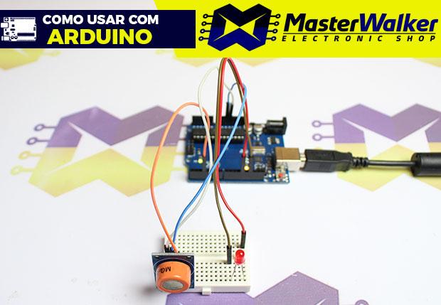 Como usar com Arduino – Sensor (Detector) de Álcool / Etanol – MQ-3