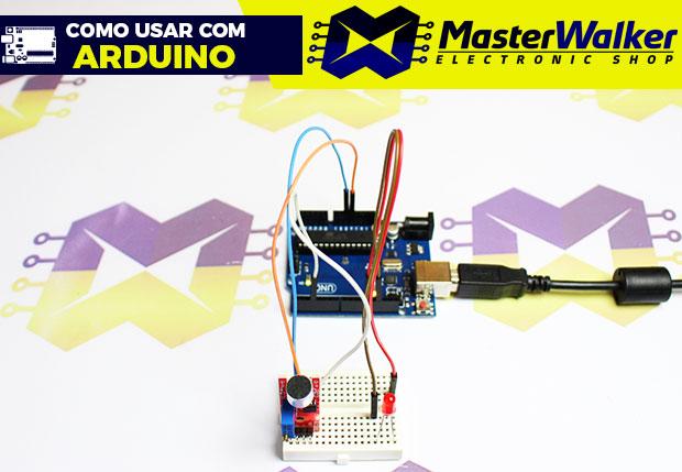 Como usar com Arduino – Sensor (Detector) de Som – KY-038