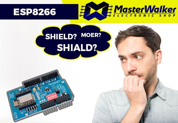 Shiald e Shield WiFi ESP8266? Será que tem diferença?