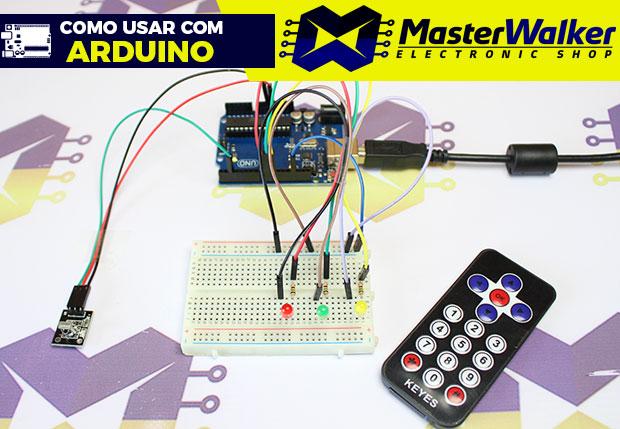 Como usar com Arduino – KIT Controle Remoto Infravermelho