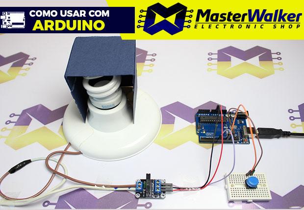 Como usar com Arduino – Módulo Relé 5V de Estado Sólido SSR 1 Canal