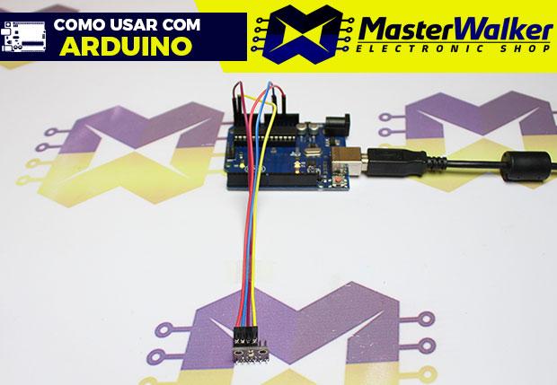 Como usar com Arduino – Sensor de Pressão e Temperatura BMP280