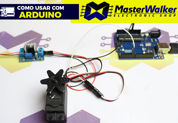 Como usar com Arduino – Servo Motor tipo Futaba S3003