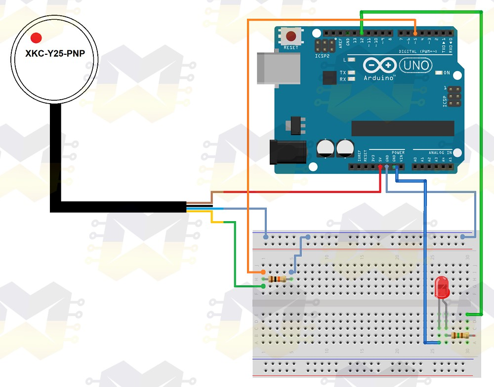 img01_como_usar_com_arduino_sensor_de_nivel_de_líquido_sem_contato_xkc_y25_pnp _uno_mega_nano_capacitivo