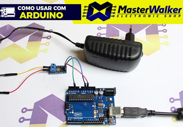 Como usar com Arduino – Sensor Medidor de Tensão DC 0-25V