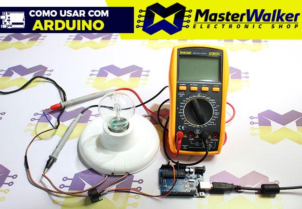 Como usar com Arduino – Módulo Sensor de Corrente AC Não Invasivo 5A