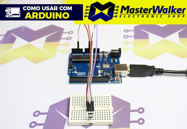 Como usar com Arduino – Sensor de Temperatura LM35