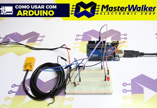 Como usar com Arduino – Sensor Indutivo NPN de Proximidade TL-W5MC1