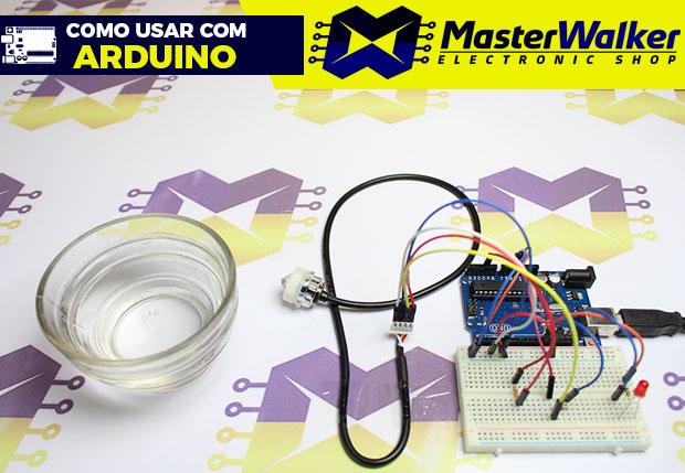 Como usar com Arduino – Sensor Óptico Infravermelho Detector de Nível de Líquido