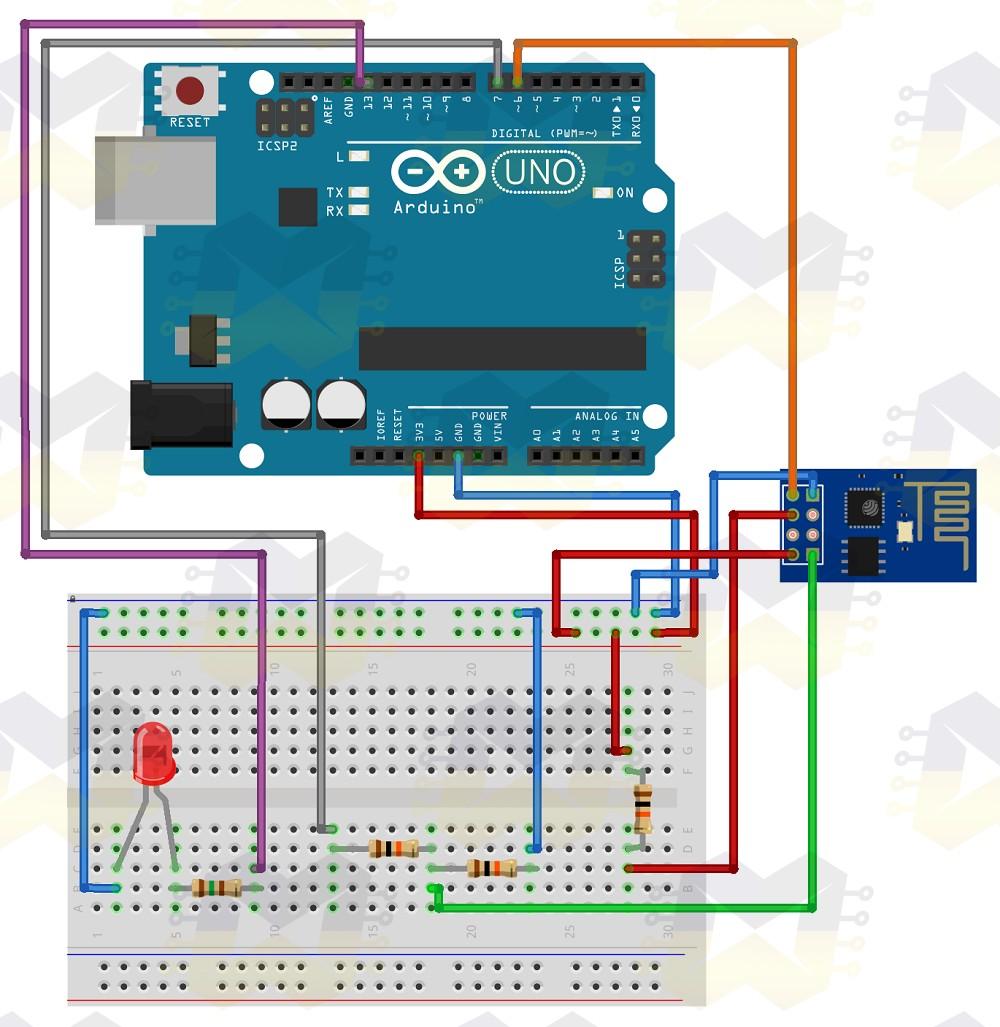 Como usar com Arduino - Módulo WiFi ESP8266 ESP-01 - BLOG