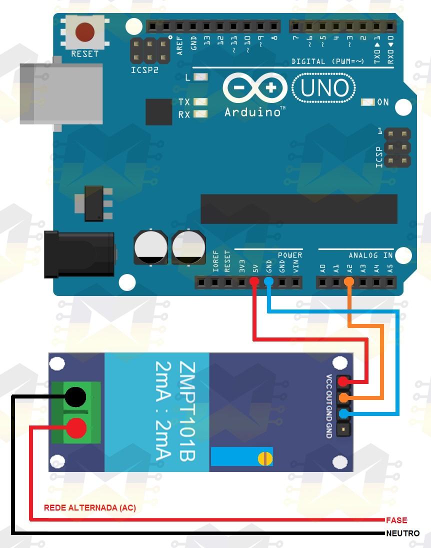 img01_como_usar_com_arduino_sensor_de_tensao_ac_0_a_250v_voltimetro_zmpt101b_lm358_calibracao_analogico