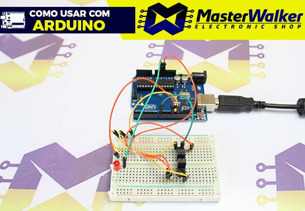 Como usar com Arduino – Interruptor Óptico (Fototransistor) TCST2103