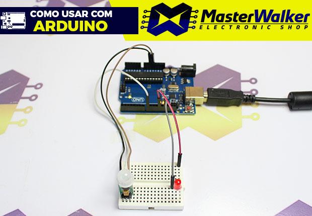 Como usar com Arduino – Mini Sensor PIR (Detector) de Movimento HC-SR505