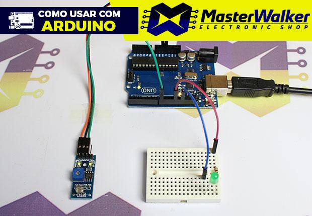 Como usar com Arduino – Módulo Fotoresistor (Sensor) LDR