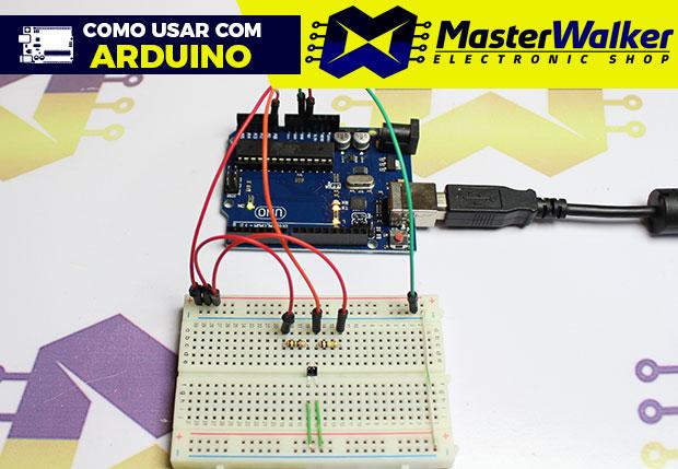 Como usar com Arduino – Sensor Analógico de Refletância QRE1113
