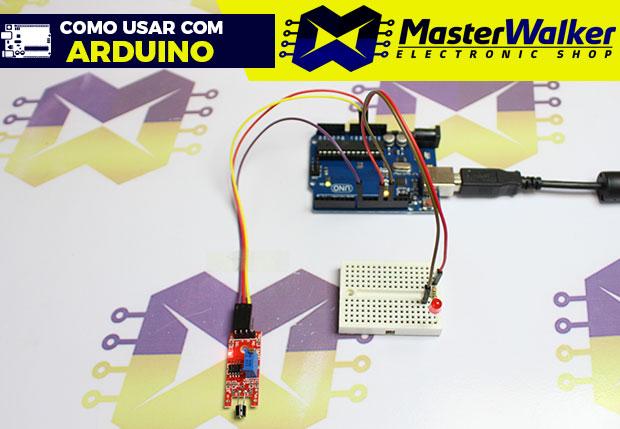 Como usar com Arduino – Sensor (Detector) de Toque KY-036