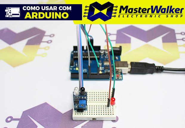 Como usar com Arduino – Sensor Infravermelho Reflexivo de Obstáculo