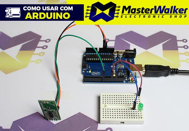 Como usar com Arduino – Sensor Microondas RCWL-0516 (Detector) de Movimento