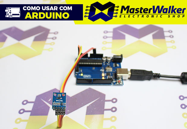 Como usar com Arduino – Sensor de Luminosidade GY-302 BH1750