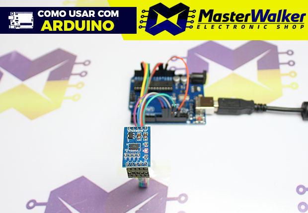 Como usar com Arduino – Módulo Acelerômetro 3 Eixos MMA7361