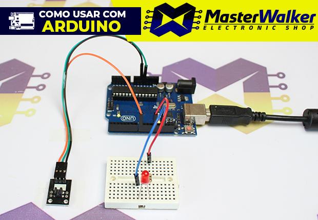 Como usar com Arduino – Módulo (Óptico) Foto Interruptor KY-010