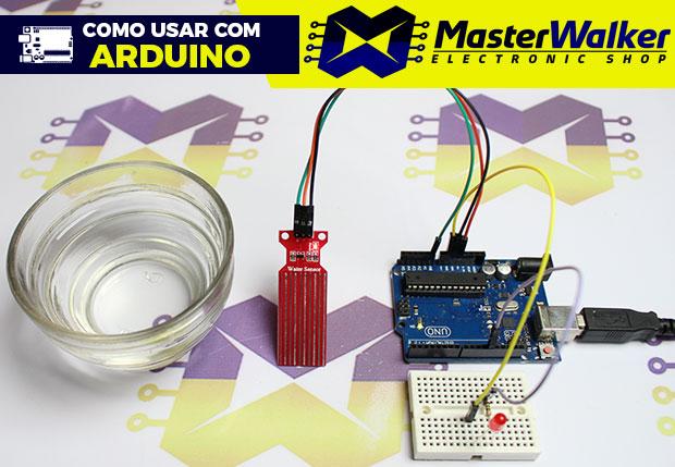 Como usar com Arduino – Módulo Sensor Detector de Nível / Profundidade de Água