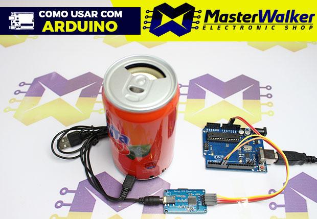 Como usar com Arduino – Módulo YX6300 Leitor de Cartão com Saída de Áudio P2