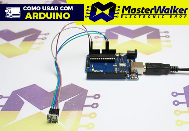 Como usar com Arduino – Sensor de Pressão e Temperatura BMP180