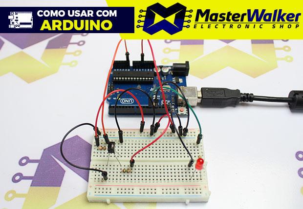 Como usar com Arduino – Sensor (Detector) Óptico Fototransistor QRD1114