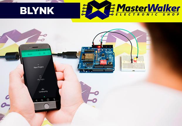 Blynk – Utilizando com o Shield WiFi ESP8266 e Arduino