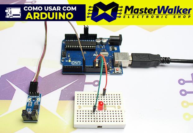 Como usar com Arduino – Sensor de Velocidade (Encoder) / Chave Óptica 5mm