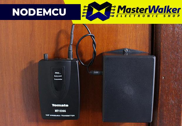 Jarvis – Porta monitorada com NodeMCU WiFi ESP82666 e Sensor Magnético MC-38