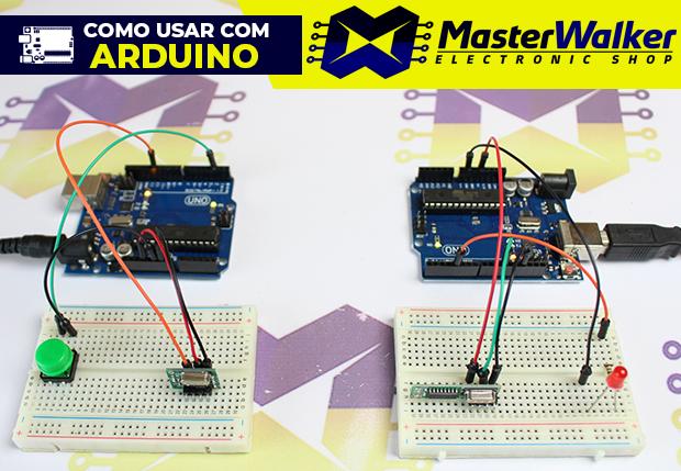Como usar com Arduino – Módulo (Transmissor e Receptor) Super Heterodino RF 433MHz