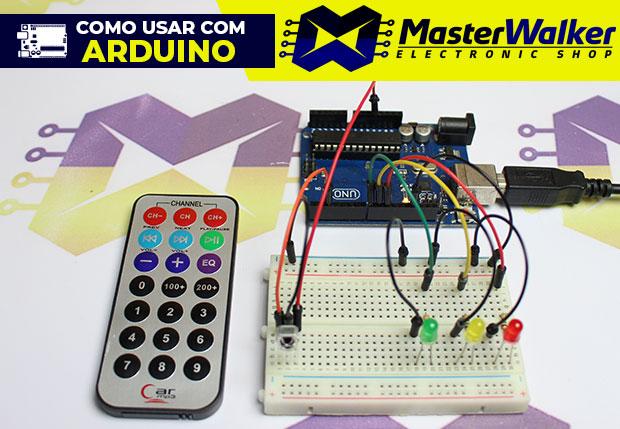 Como usar com Arduino – Controle Remoto Infravermelho
