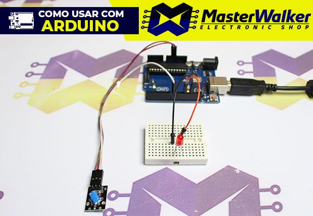 Como usar com Arduino – Módulo Sensor (Detector) de Inclinação KY-020