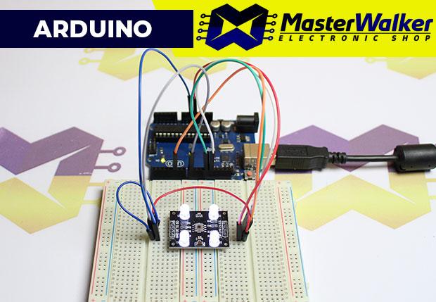 Como usar com Arduino – Sensor de Cor TCS230 (TCS3200)