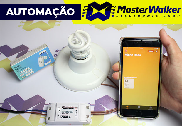 Sonoff Compatível com o Homekit / App Casa (Apple iPhone iPad iOS)