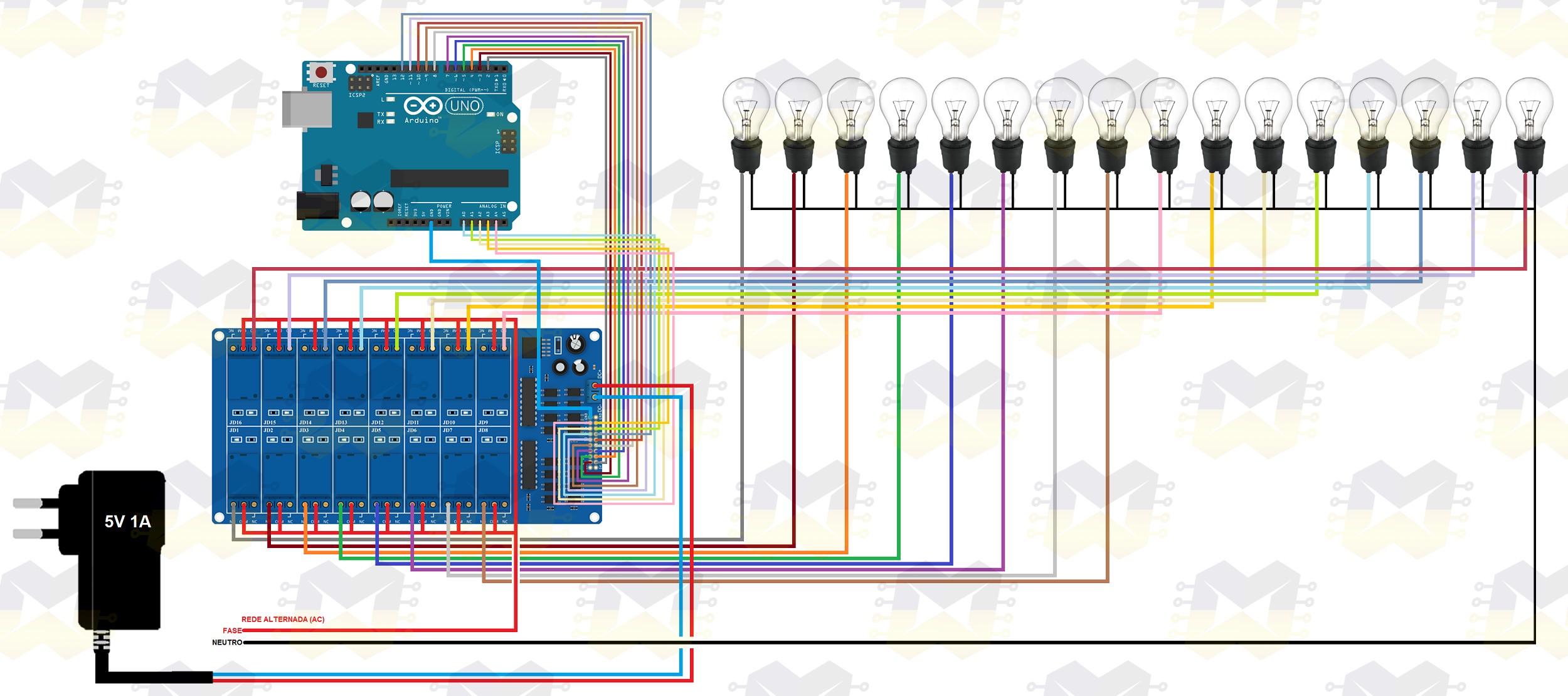 img01_como_usar_com_arduino_modulo_rele_5v_de_16_canais_uno_mega_2560_nano_automacao_residencial_lampada_blynk_esp32_esp8266
