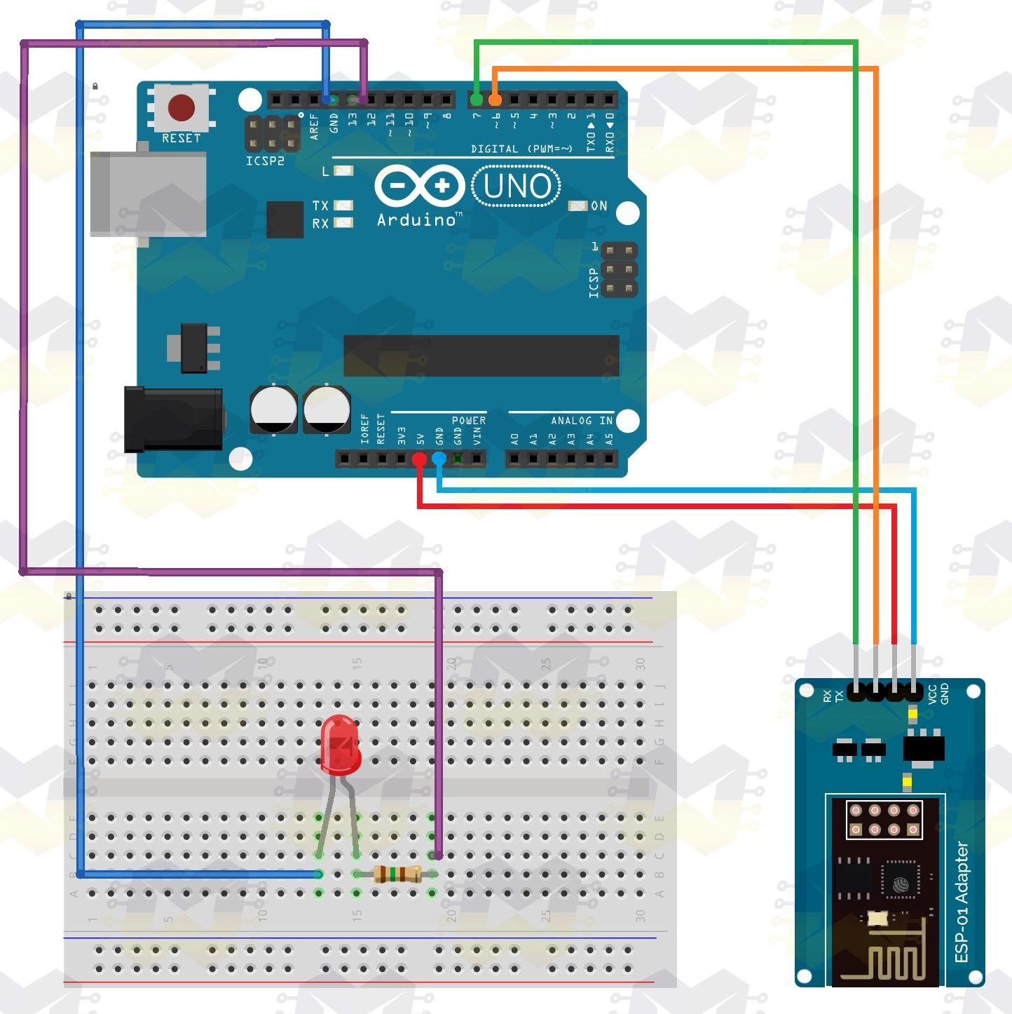 img04_simplificando_conexao_entre_o_modulo_wifi_esp8266_esp-01_arduino_adaptador_3.3v_5v_rx_tx_ams1117_uno_nano_mega_due