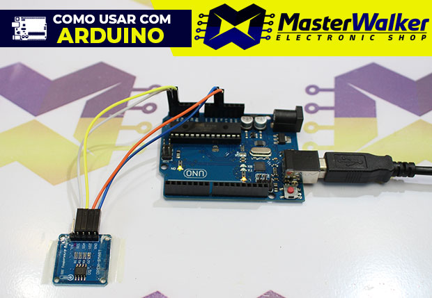Como usar com Arduino – Módulo Sensor de Temperatura LM75