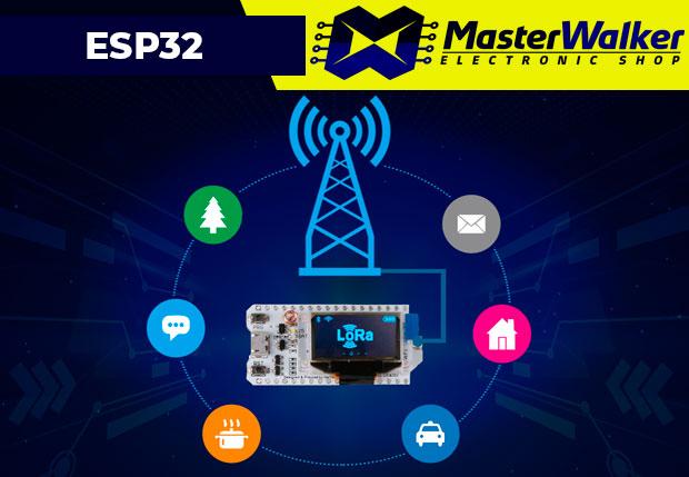 Conhecendo a Placa WiFi LoRa ESP32 (433MHz / 868MHz / 915MHz)