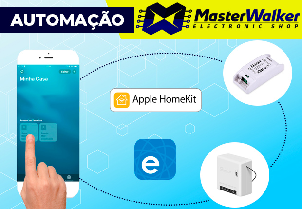Integrando o Sonoff com o App Casa (Apple iPhone iPad iOS)