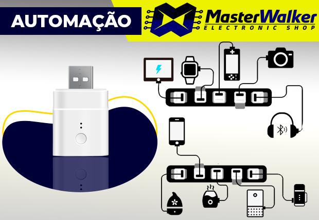Conhecendo o Sonoff Micro Adaptador Inteligente USB Sem Fio