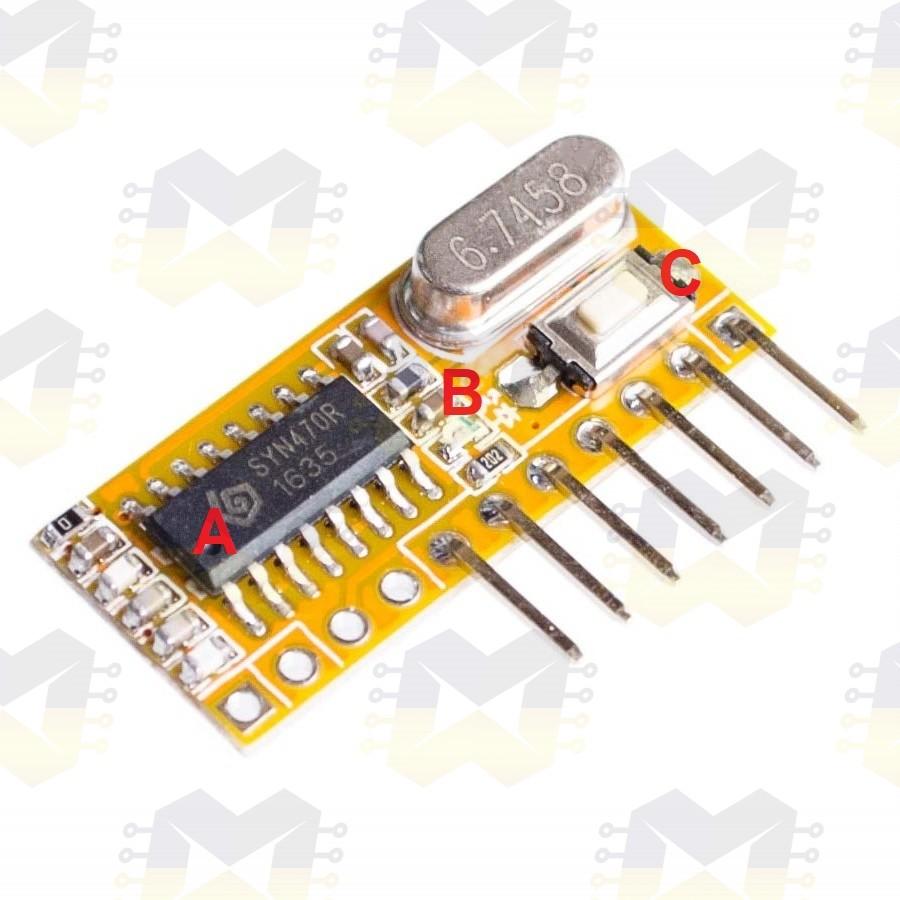 img01_conhecendo_modulo_rxc6_receptor_wireless_superheterodino_rf_433mhz_arduino_esp8266_esp32_controle_remoto_ev1527_pt2262