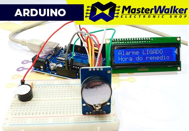 Sua casa estará incompleta se você não fizer este despertador com Arduino! Vamos montar? É simples e rápido!